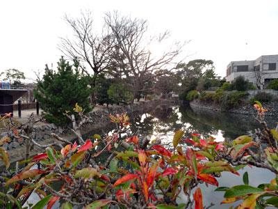 三田尻御舟倉跡の写真/写真をクリックで拡大。Escキーで戻ります