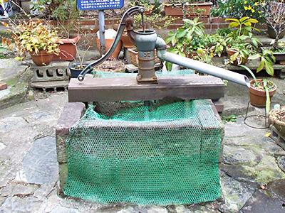 ひょうたん井戸の写真