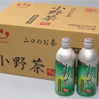 山口のお茶 小野茶(490g/24缶入)の写真