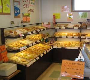 パン工房の写真