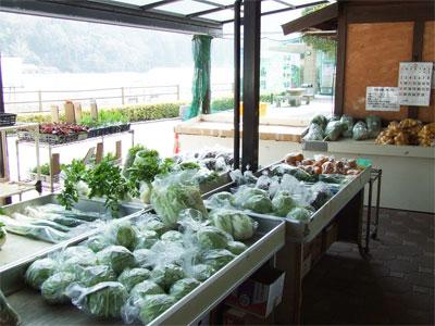 野菜市場の写真