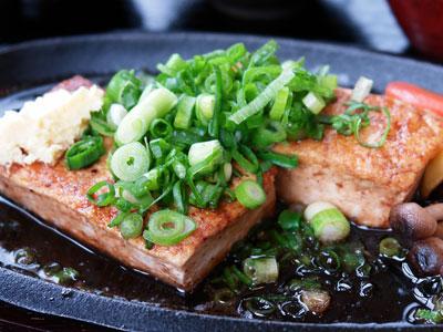 豆腐ステーキの写真