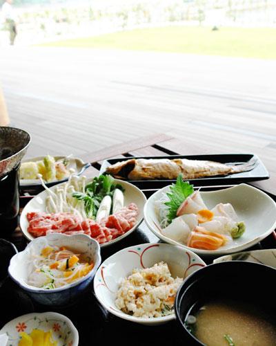 阿武のおいしいもの定食の写真
