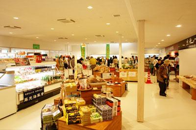 24時間営業の直営物販コーナーの写真
