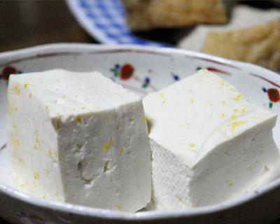 みかん豆腐の写真