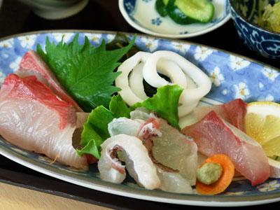 日本海定食の写真