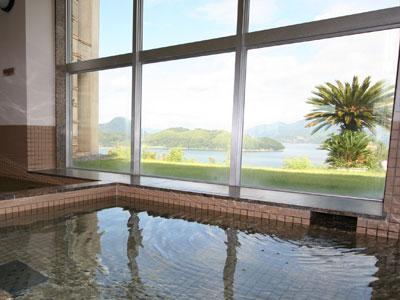 潮風呂からの瀬戸内の景色の写真