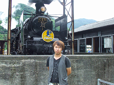 SLやまぐち地域振興会事務局長 吉永昂弘さんの写真