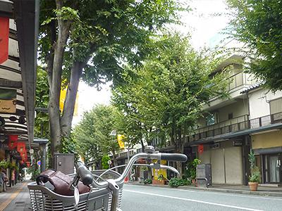 山口駅前通りの写真