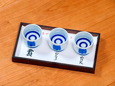 山口地酒利き酒セットの写真