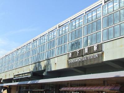 新下関駅外観の写真