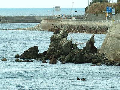 二見夫婦岩の写真