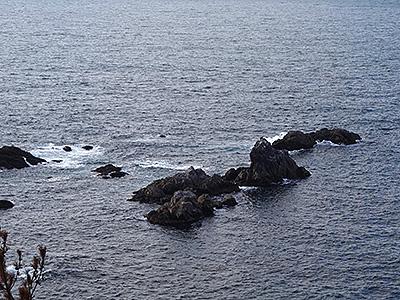 青海島の瀬叢の写真