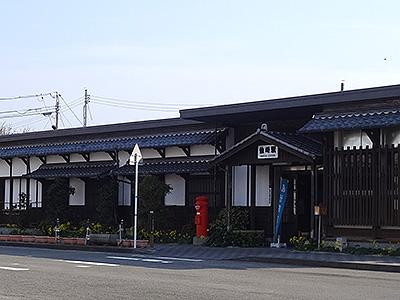 仙崎駅舎外観の写真