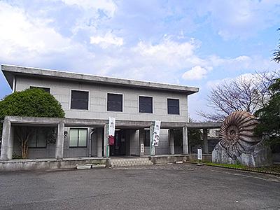 美祢市化石館外観の写真