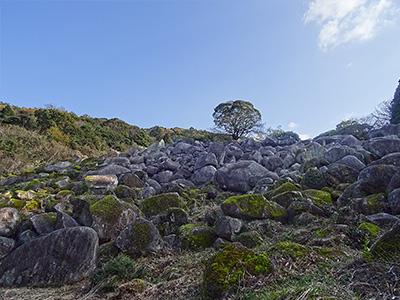 万倉の大岩郷の写真