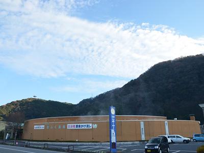 道の駅おふく外観の写真
