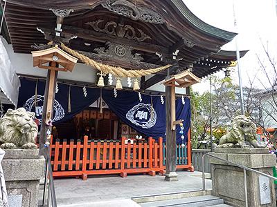 中津瀬神社外観の写真