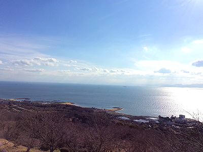 竜王山展望台からの眺望の写真
