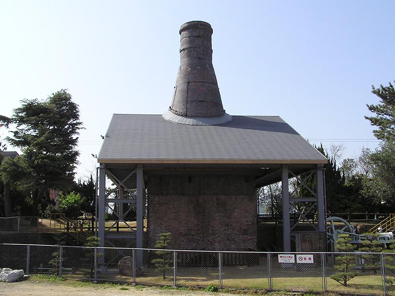 旧小野田セメント製造株式会社竪窯の写真