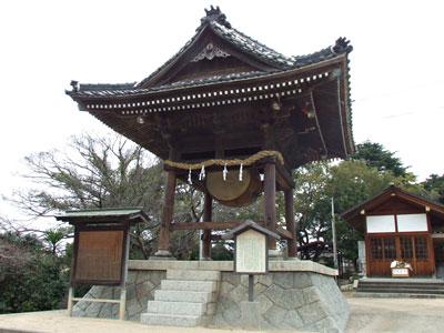 嚴島神社太鼓堂の写真