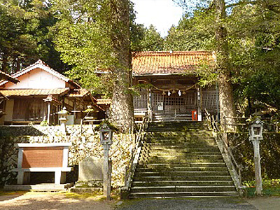 生雲八幡宮の写真