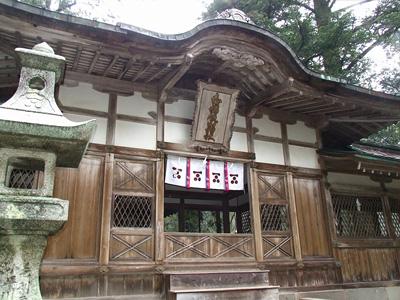 志都岐山神社の外観の写真