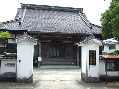 長慶寺外観の写真