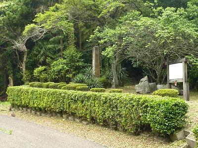 大田・絵堂戦役の記念碑の写真