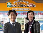より適切な行政サービスを提供できるよう市町への権限移譲に取り組んでいます!(左から高田さん、藤井さん)